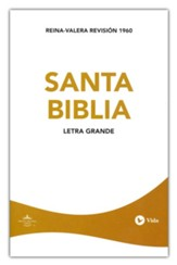 Biblia Económica Letra Grande RVR 1960  (RVR 1960 Large Print Economy Bible) - Slightly Imperfect