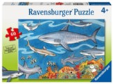 Sea of Sharks Puzzle, 60 Pieces