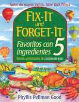 Fix-it and Forget-it Favoritos Con 5 Ingredientes - eBook