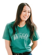 Be Still Shirt, Green, Medium