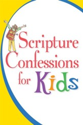 Scripture Confessions for Kids - eBook