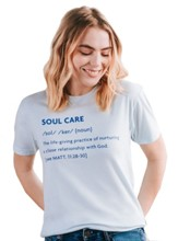Soul Care Shirt, Blue, X-Small