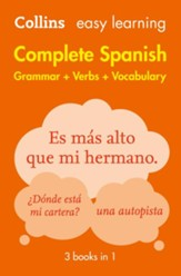 Easy Learning Spanish Complete Grammar, Verbs and Vocabulary (3 books in 1) (Collins Easy Learning Spanish) - eBook