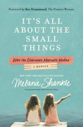 It's All About the Small Things: Why the Ordinary Moments Matter - eBook