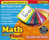 Math in a Flash Flashcards: Subtraction