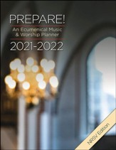 Prepare! 2021-2022, NRSV Edition: An Ecumenical Music & Worship Planner
