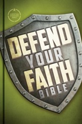 CSB Defend Your Faith Bible: The Apologetics Bible for Kids - eBook