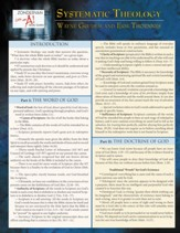 Systematic Theology Laminated Sheet - eBook