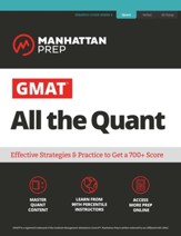 GMAT Quantitative Strategy Guide: The definitive guide to the quant section of the GMAT - eBook