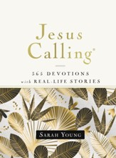 Jesus Calling, 365 Devotions with Real-Life Stories, Hardcover, with Full Scriptures - eBook