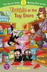 Trouble at the Toy Store (The Secret Slide Money Club, Book 3) - eBook