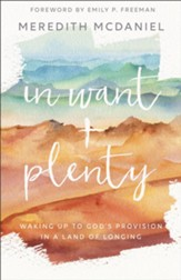 In Want + Plenty: Waking Up to God's Provision in a Land of Longing - eBook