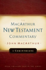 1 Corinthians: The MacArthur New Testament Commentary  -eBook
