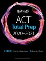 ACT Total Prep 2020-2021: 6 Practice  Tests + Proven Strategies + Online + Video - eBook