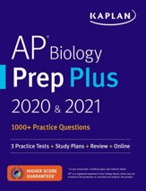 AP Biology Prep Plus 2020 & 2021: 7  Practice Tests + Study Plans + Targeted Review & Practice + Online - eBook