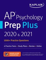 AP Psychology Prep Plus 2020 & 2021:  6 Practice Tests + Study Plans + Targeted Review & Practice + Online - eBook