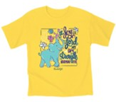 Joy Elephant Shirt, Daisy, Youth Large