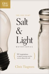The One Year Salt and Light Devotional: 365 Inspirations to Equip and Encourage You to Live Out Your Calling in the World - eBook