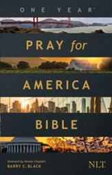 The One Year Pray for America Bible NLT - eBook