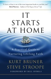 It Starts at Home: A Practical Guide to Nurturing Lifelong Faith - eBook