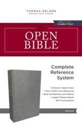 The NKJV, Open Bible, eBook: Complete Reference System - eBook