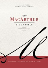The NKJV, MacArthur Study Bible, 2nd Edition, Ebook: Unleashing God's Truth One Verse at a Time - eBook