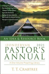 The Zondervan 2021 Pastor's Annual: An Idea and Resource Book - eBook