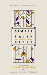 NRSV, Simple Faith Bible, ebook: Following Jesus into a Life of Peace, Compassion, and Wholeness - eBook