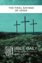 The Final Sayings of Jesus - eBook