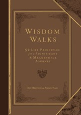 WisdomWalks Faux Leather Gift Edition: 52 Life Principles for a Significant and Meaningful Journey - eBook