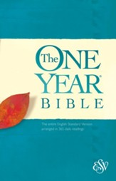 ESV One Year Bible - eBook