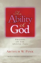 The Ability of God: Prayers of the Apostle Paul - eBook