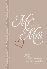 Mr & Mrs: 365 Daily Devotions for Busy Couples - eBook