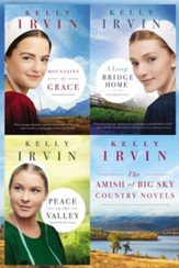 The Amish of Big Sky Country Novels: Mountains of Grace, A Long Bridge Home, Peace in the Valley / Digital original - eBook