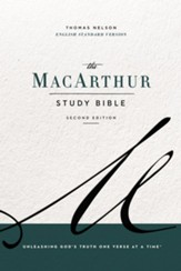 The ESV, MacArthur Study Bible, 2nd Edition, eBook: Unleashing God's Truth One Verse at a Time - eBook