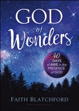 God of Wonders: 40 Days of Awe in the Presence of God - eBook