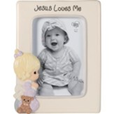 Jesus Loves Me, Praying Girl, Photo Frame