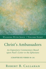 Christ's Ambassadors: An Expository Commentary Based upon Paul's Letter to the Ephesians - eBook