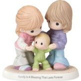 Precious Moments, Family Is A Blessing That Lasts Forever Figurine