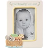 Overflowing With Love, Noah's Ark Photo Frame, Ceramic