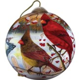White Crimson Morning, Ornament