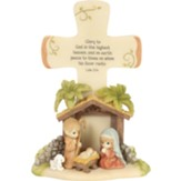 Precious Moments, Glory To God Nativity Cross
