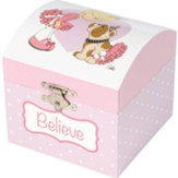 Believe Musical Jewelry Box