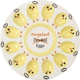 Deviled/Angeled Egg Platter, Precious Moments