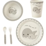 Whale Mealtime Set, 5 Pieces