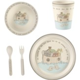 Noah's Ark Mealtime Set, 5 Pieces