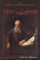 Text and Canon: Essays in Honor of John H. Sailhamer - eBook