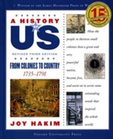 From Colonies to Country: 1740-1789, Revised 3rd Edition