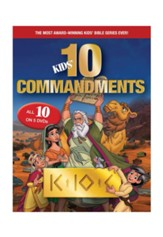 Kids Ten Commandments 1-5 DVD Gift Set