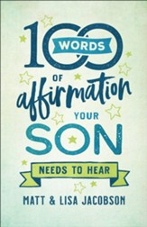 100 Words of Affirmation Your Son Needs to Hear - eBook